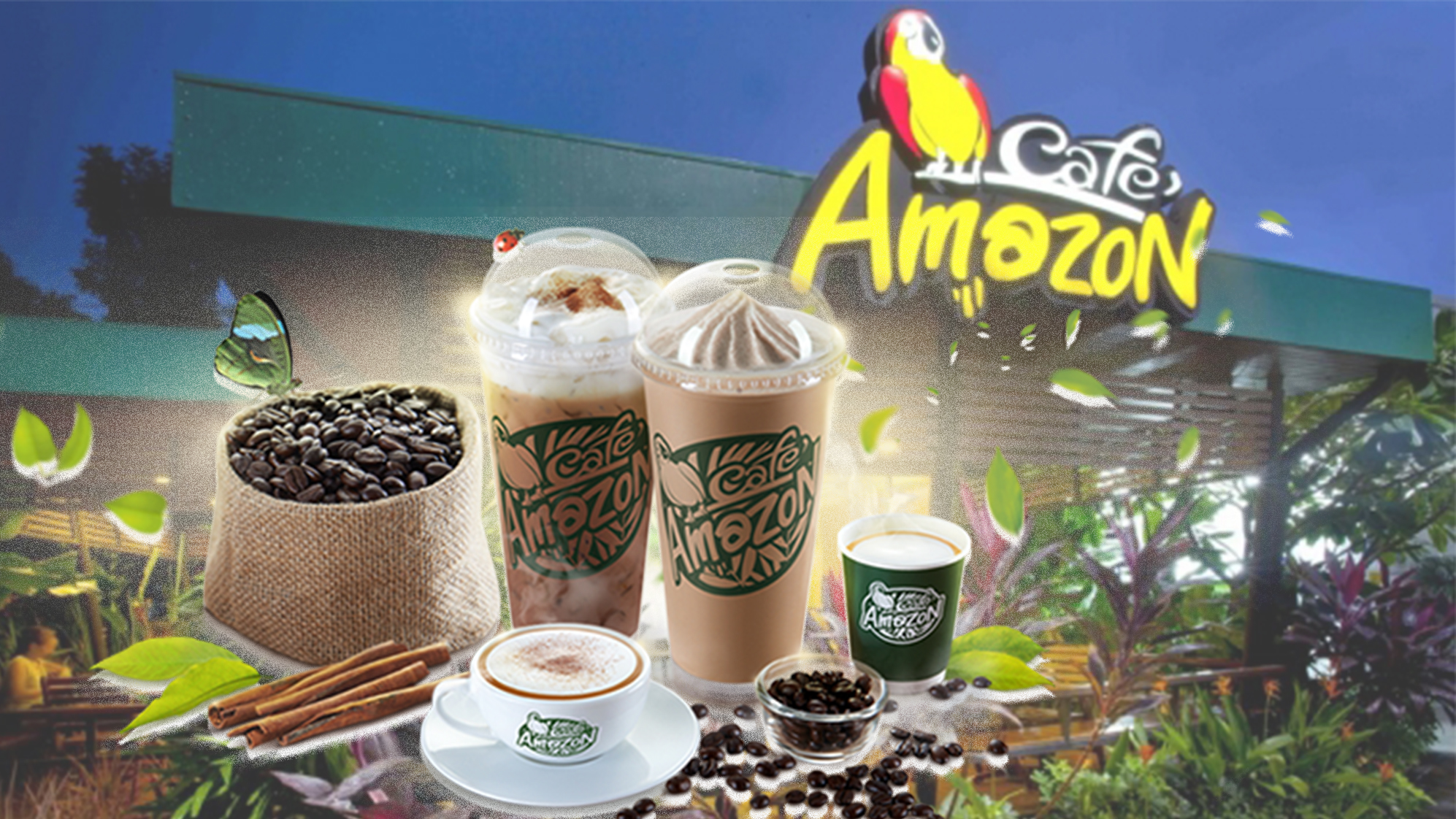 Cafe Amazon business