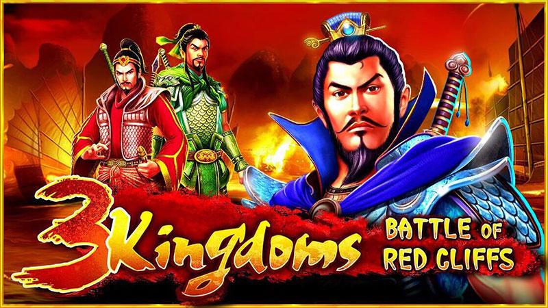 เกมสล็อตที่น่าลุ้นที่สุด 3 Kingdoms – Battle of Red Cliffs